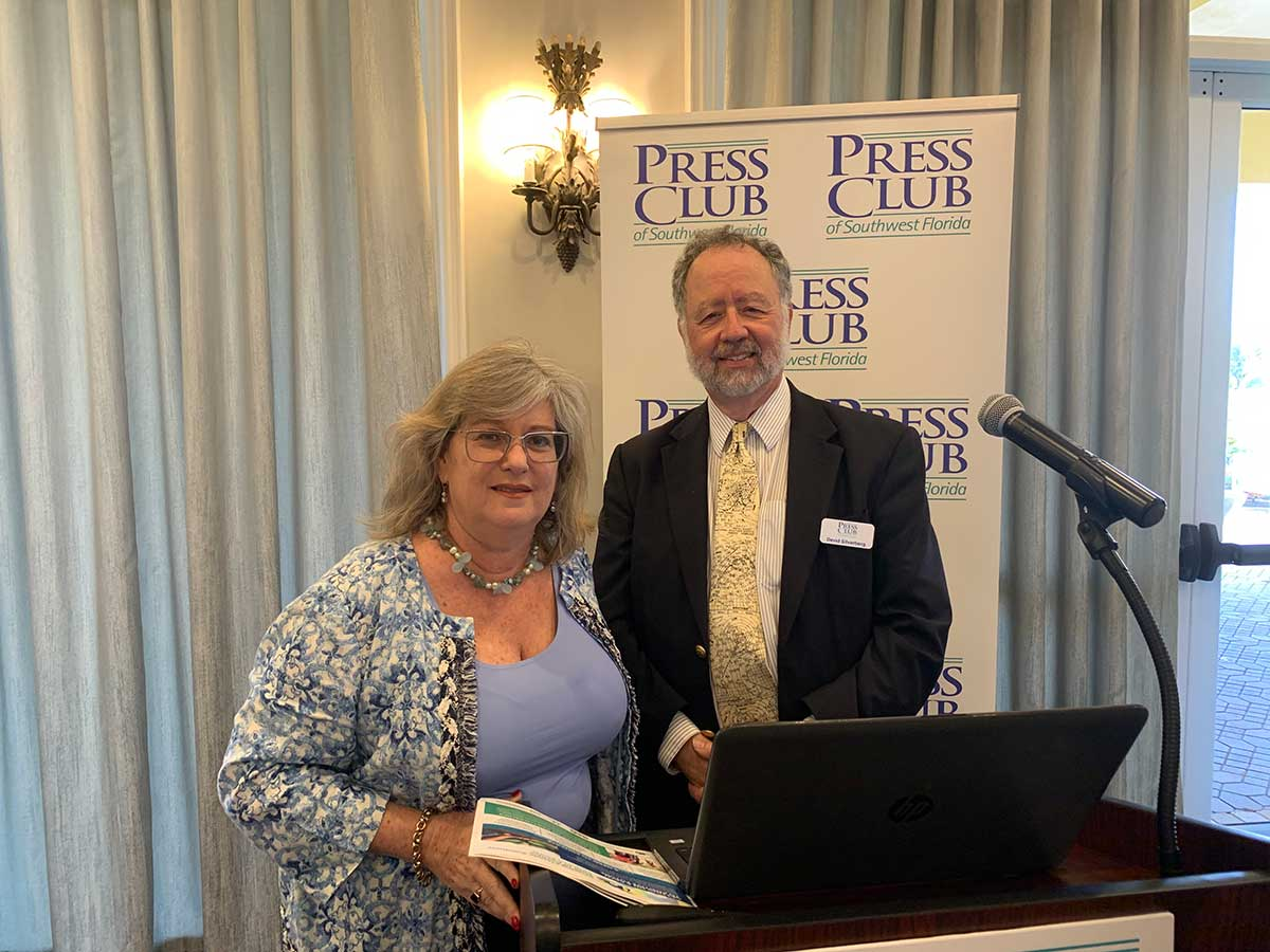 Growing Climate Solutions Regional Director speaks to Naples Press Club