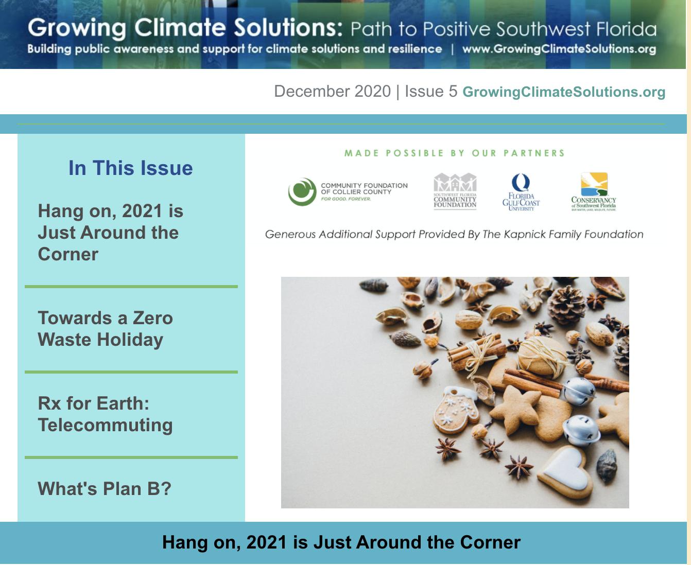 December Newsletter – 2020